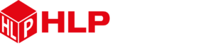 HLP Klearfold logo white