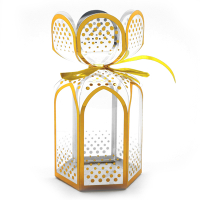Gold gift packaging