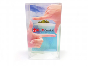 HLP Klearfold packaging